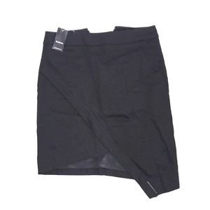 Bebe NWT asymmetrical mini skirt